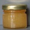 Cristallised Ginger infused natural set honey sample jar