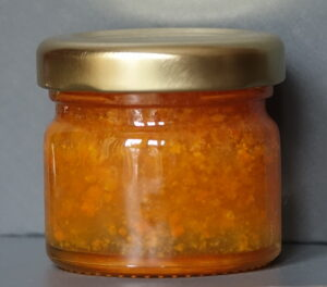 Turmeric infused natural set floral honey