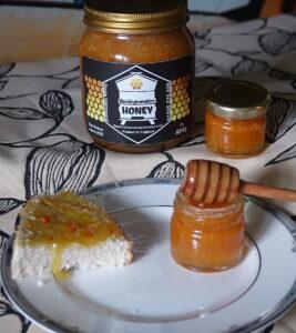 Turmeric infused natural set honey